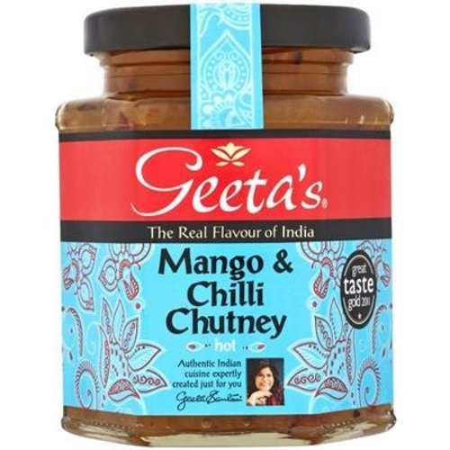 Geeta's Geeta's Mango and Chilli Chutney - Hot