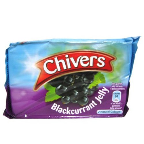 Chivers Blackcurrant Jelly/Jello