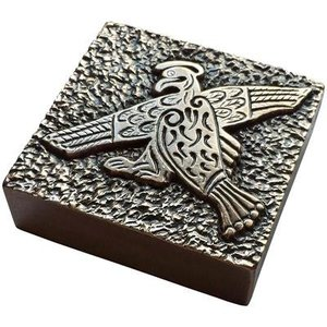Wild Goose Wild Goose Book of Kells Paperweight - Eagle