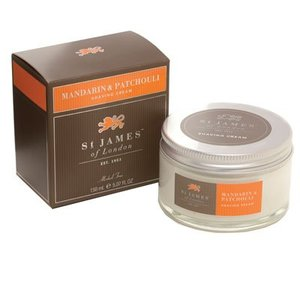 St. James of London St. James Mandarin & Patchouli Shave Cream Tub