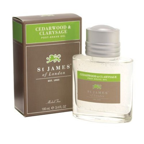 St. James of London St. James Cedarwood & Clarysage Post-Shave Gel
