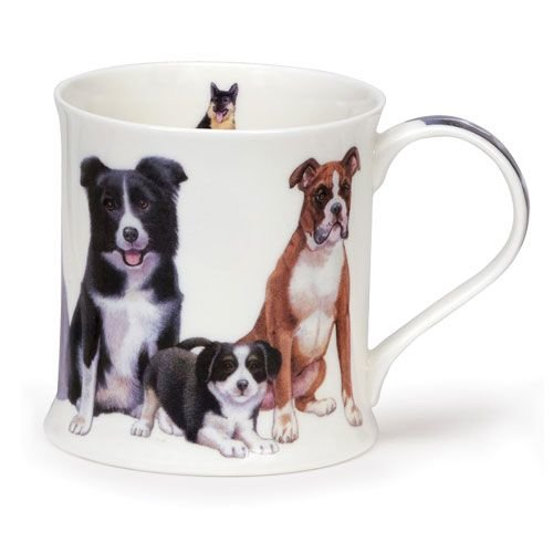 Dunoon Dunoon Wessex Dogs & Puppies Mug - Collie