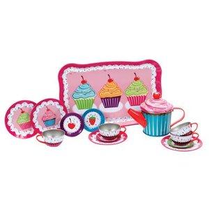 Schylling Schylling Cupcake Tin Tea Set