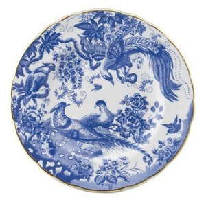 Royal Crown Derby Blue Aves 8 in. Plate