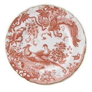 Royal Crown Derby Royal Crown Derby Red Aves 8 in. Plate
