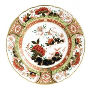 Royal Crown Derby Golden Peony 8 in. Plate
