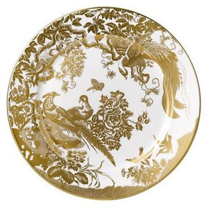 Royal Crown Derby Gold Aves 8 in. Plate