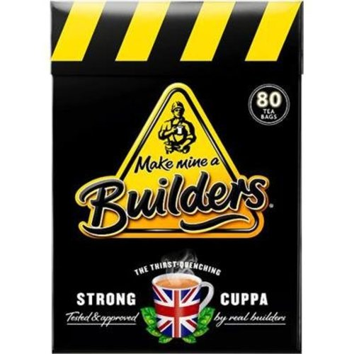Builder's Builder's Strong British Tea - 80CT
