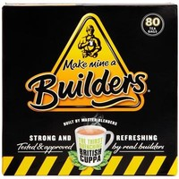Builder's Strong British Tea - 40CT