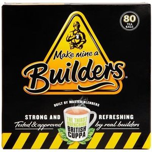Builder's Builder's Strong British Tea - 40CT