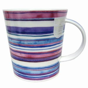 Dunoon Dunoon Lomond Stripes Mug - Crystal Sea