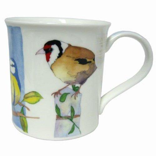 Dunoon Dunoon Bute Birdwatch Mug - Goldfinch