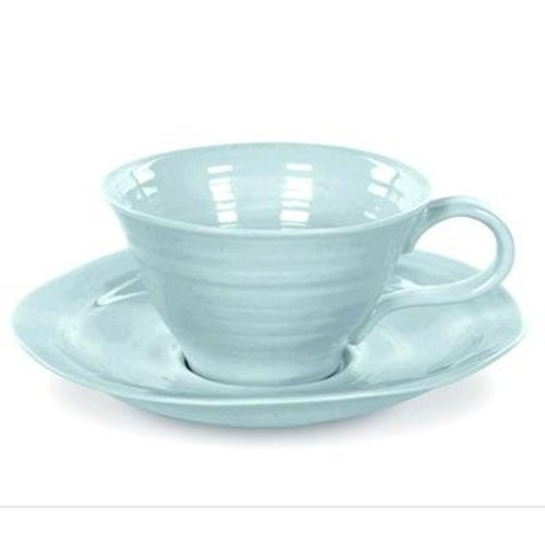 Portmeirion Sophie Conran Teacup & Saucer - Celadon