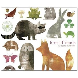 Maria Carluccio Forest Friends Notecards