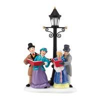 Dickens' Village Series - Caroling by Lamplight