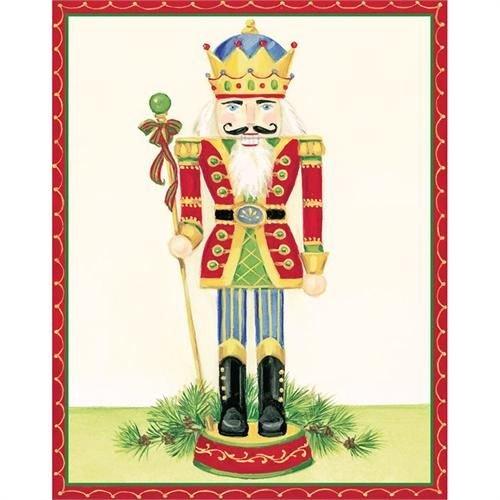 Caspari Caspari Christmas Cards - Nutcracker