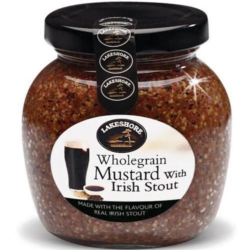 Lakeshore Wholegrain Mustard with Irish Stout