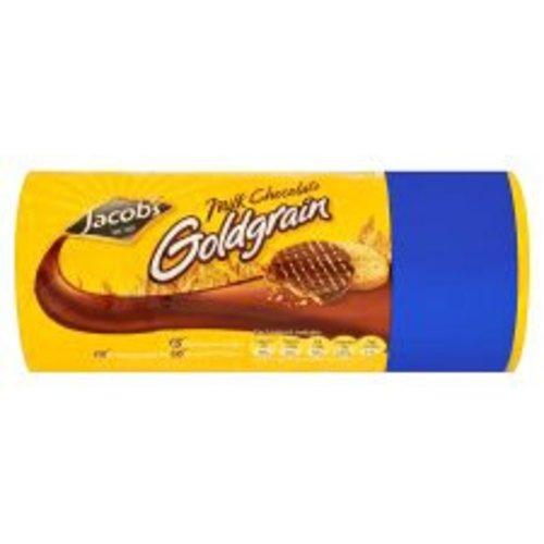 Jacob's Jacobs Milk Chocolate Goldgrain Biscuits