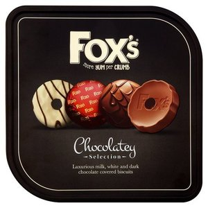 Foxs Chocolatey Biscuit Selection Tin