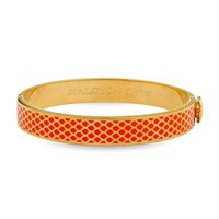 Halcyon Days Salamander Bangle - Orange and Gold