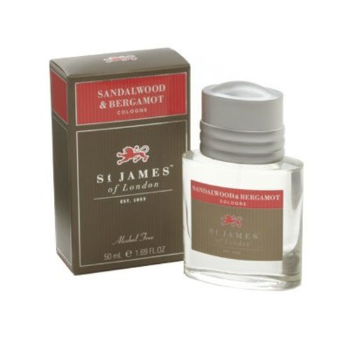 St. James of London St. James Sandalwood & Bergamot Cologne