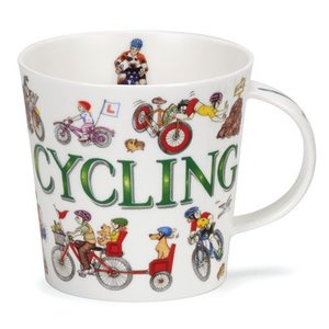 Dunoon Cairngorm Sporting Antics Cycling Mug
