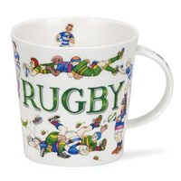 Dunoon Cairngorm Sporting Antics Mug - Rugby