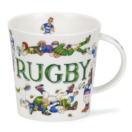 Dunoon Dunoon Cairngorm Sporting Antics Mug - Rugby