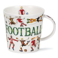 Dunoon Cairngorm Sporting Antics Mug - Football