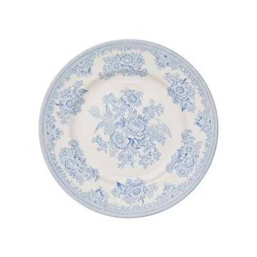 Burleigh Pottery Asiatic Pheasants Blue 7 in. Plate