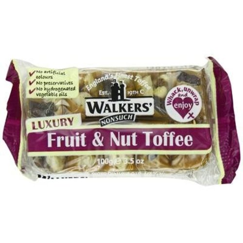 Walkers Nonsuch Walkers Nonsuch  Fruit and Nut Toffee - 100g