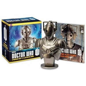 Doctor Who Cyberman Bust & Illustrated Book