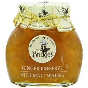 Mrs. Bridges Mrs. Bridges Ginger Preserve with Malt Whisky