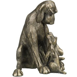 Frith Sculpture Frith Amber with Pup : HD048