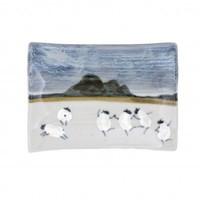 Highland Stoneware Sheep X-Small Rectangle
