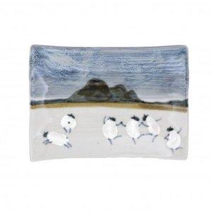 Highland Stoneware Highland Stoneware Sheep X-Small Rectangle