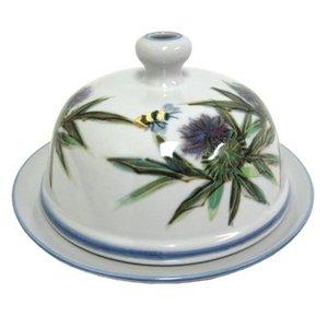 Highland Stoneware Highland Stoneware Thistle Butter Dish