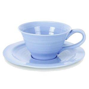 Portmeirion Sophie Conran Teacup & Saucer - Blue