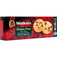 Walkers Gluten Free Shortbread - Chocolate Chip