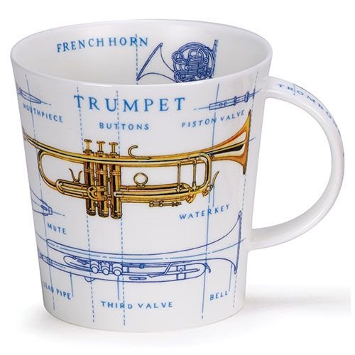 Dunoon Cairngorm Music Icons Brass Mug