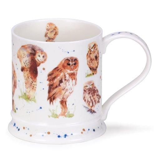 Dunoon Iona Owl Mug