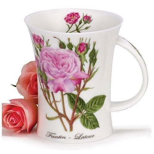 Dunoon Dunoon Richmond Rosa Botanica Mug - Fantin-Latour