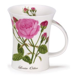 Dunoon Dunoon Richmond Rosa Botanica Mug - Louise Odier