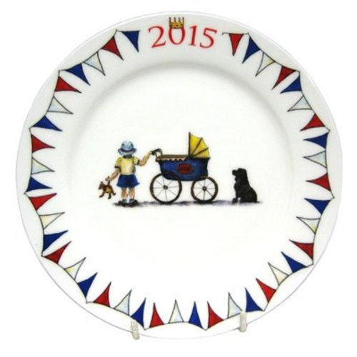Milly Green Milly Green Royal Baby 2015 Plate