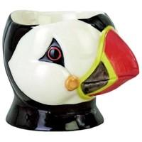 Quail Egg Cup - Puffin Face