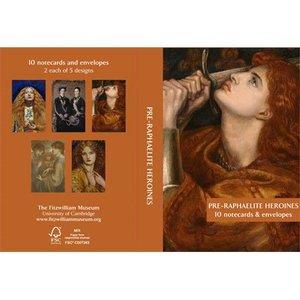 Fitzwilliam Museum Pre-Raphaelite Heroines Notecards