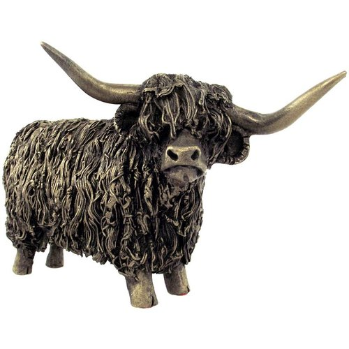 Frith Sculpture Frith Highland Cow Standing : VB019