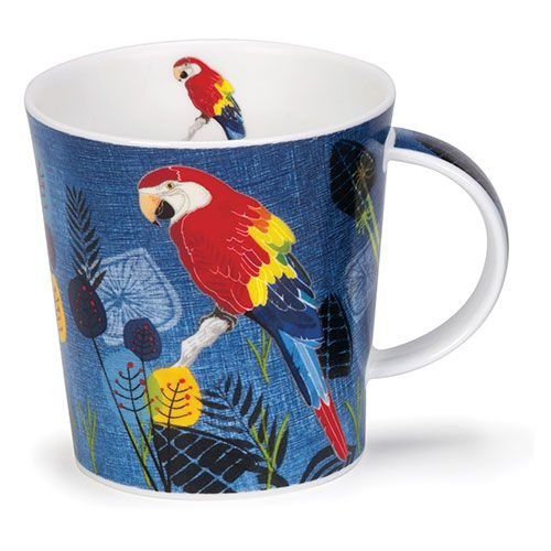 Dunoon Lomond Flights of Fancy Macaw Mug