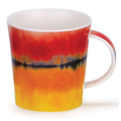 Dunoon Dunoon Lomond Horizon Mug - Red
