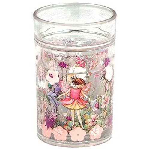 Flower Fairies Flower Fairies Columbine Glitter Beaker